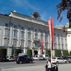 Photo taken at Hofburg Innsbruck by Sergey Z. on 9/24/2013