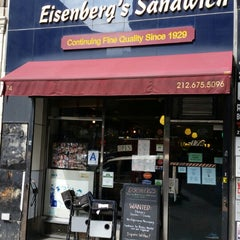 Photo taken at Eisenberg's Sandwich Shop by Joe M. on 9/6/2014