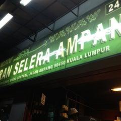 Photo taken at Resto Selera Ampang Wisma central by Lee Botak on 8/10/2013