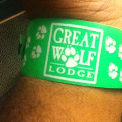 Photo taken at Great Wolf Lodge by Chris P. on 5/26/2013