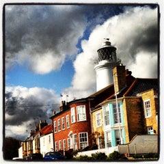 Photo taken at Southwold Lighthouse by Ashley B. on 10/2/2012