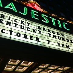 Photo taken at The Majestic Theatre by Michael R. on 10/8/2012