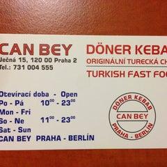 Photo taken at Döner Kebab Can Bey by Ljuba on 5/6/2013