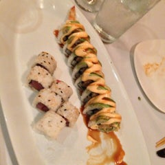 Photo taken at Sushi Siam Key Biscayne by Mike D. on 4/22/2013