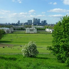 Photo taken at Greenwich Park by Maura X. on 5/25/2013