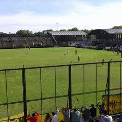 Photo taken at Estadio Don León Kolbowski - Club Atlético Atlanta by Franco M. on 3/22/2014
