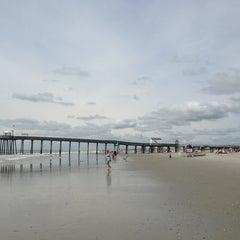 Photo taken at Ocean City Fishing Pier by Bridget_NewGirl on 6/19/2013