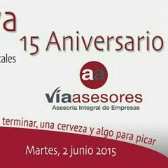 Photo taken at Vía Asesores by FERNANDO JOSE Z. on 5/15/2015