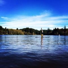 Photo taken at Cullaby Lake by Seaside O. on 10/6/2015