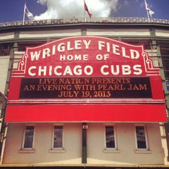 Photo taken at Wrigley Field by Alfonso O. on 7/19/2013