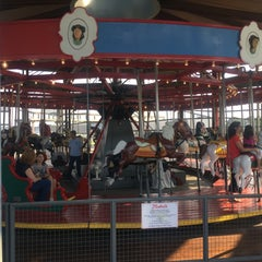 Photo taken at Greenport Antique Carousel by tre\/ on 8/25/2015