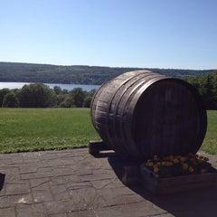 Photo taken at Keuka Spring Vineyards by Lauren O. on 7/24/2014