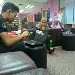 Photo taken at Library PSP by Effareena F. on 8/3/2015