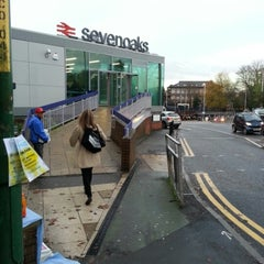 Photo taken at Sevenoaks Railway Station (SEV) by Pedro S. on 11/23/2012
