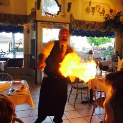 Photo taken at Epsilon Fine Greek Restaurant by Chris H. on 7/17/2015