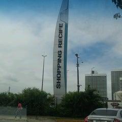 Photo taken at Shopping Recife by Sabrina B. on 10/21/2012