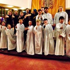 Photo taken at St. Charles Parish Catholic Church by Michael E. on 3/29/2014