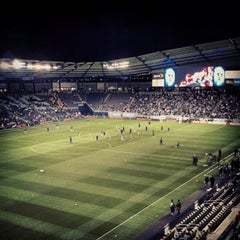 Photo taken at Sporting Park by Matt C. on 11/8/2012