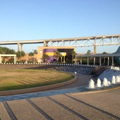 Photo taken at The Watergarden & Pavilion by Mark S. on 7/6/2014