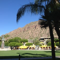 Photo taken at The Phoenician by Sam G. on 9/28/2012