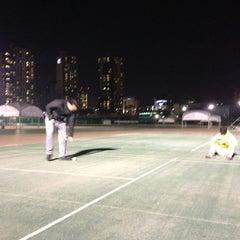 Photo taken at 반포종합운동장 테니스코트 by soopac P. on 3/14/2013