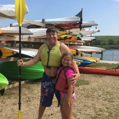 Photo taken at Empire Kayaks by Andrew B. on 7/11/2015