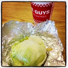 Photo taken at Five Guys by SewPixie W. on 10/7/2013