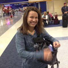 Photo taken at Gate A29 by Robert H. on 10/30/2012