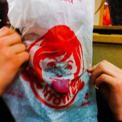 Photo taken at Wendy's by Mark A. on 1/21/2014