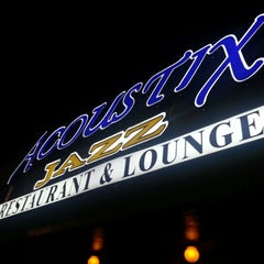 Photo taken at Acoustix Jazz Restaurant And Lounge by @taji_fit C. on 9/29/2012