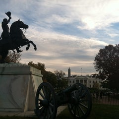 Photo taken at Andrew Jackson Statue by Andrew R. on 11/16/2013