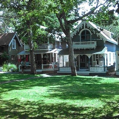 Photo taken at Martha's Vineyard Camp Meeting Association Cottages by Frank H. on 7/23/2014