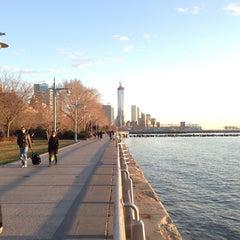 Photo taken at Hudson River Park by Roland L. on 3/31/2013