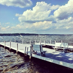 Photo taken at Geneva Lake by Meagan B. on 7/20/2013