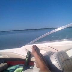 Photo taken at Lake Lavon by Jimmy C. on 5/22/2013