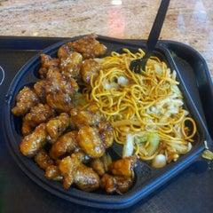 Photo taken at Panda Express Gourmet Chinese Food by Nathan F. on 10/24/2012