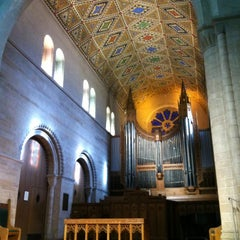 Photo taken at Shove Chapel by Suzanne T. on 1/4/2013