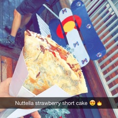 Photo taken at Crepes a la Cart by Ali .. on 9/5/2015