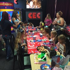 Photo taken at Chuck E. Cheese's by Chris B. on 7/25/2015