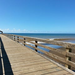 Photo taken at Waimea Recreation Pier by ernie e. on 10/3/2014