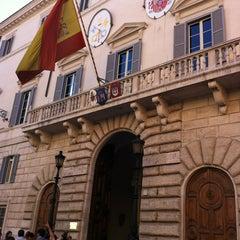 Photo taken at Embajada De España Ante La Santa Sede by Berna U. on 10/6/2012