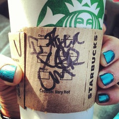 Photo taken at Starbucks by Veronica H. on 1/11/2013