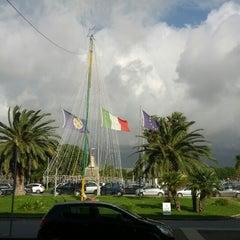 Photo taken at Aeroporto Internazionale di Lamezia Terme (SUF) by Daniele I. on 12/28/2012