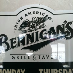 Photo taken at Bennigan's by Jim M. on 3/23/2013