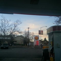Photo taken at Shell by Zoi F. on 12/27/2012