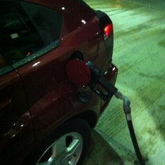 Photo taken at Hess Gas Station by Jay C. on 2/19/2013