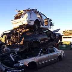 Photo taken at I-17 Auto & Truck Recyclers by Magdy Ayoub H. on 1/28/2014