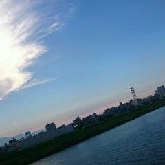 Photo taken at 滝尾橋 by 豆柴 優. on 8/8/2015