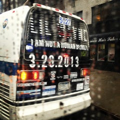 Photo taken at MTA Bus M57 by @thecultureofme on 3/16/2013