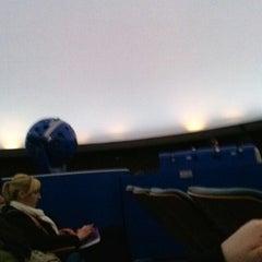 Photo taken at Fujitsu Planetarium De Anza College by Alberto V. on 1/29/2013